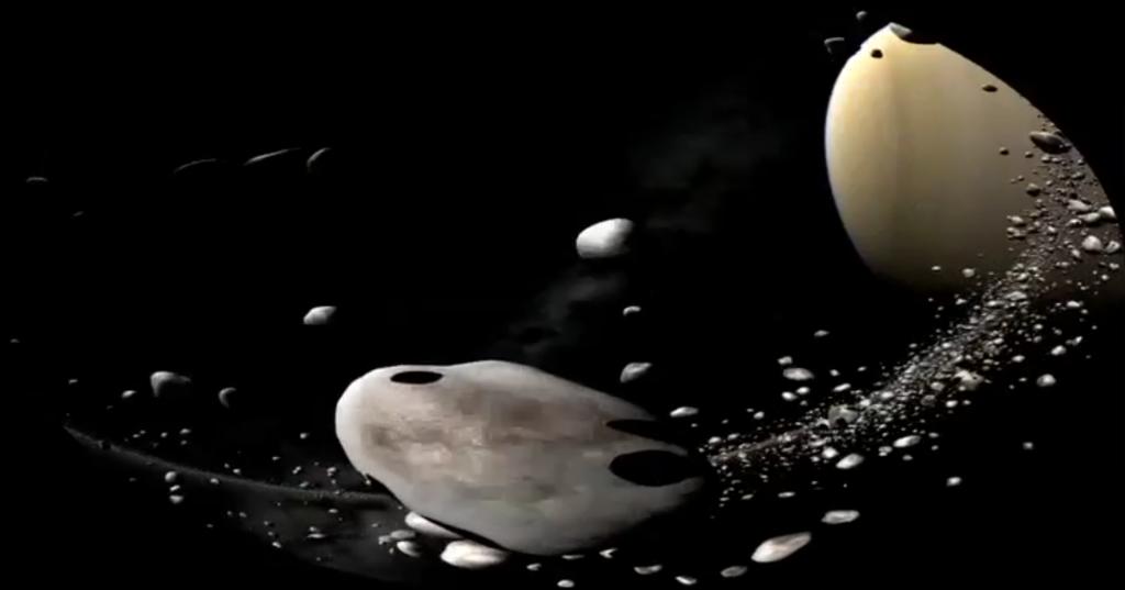 "CREATION MUSICALE A L'IMAGE : ""SATURNE"". Film planétarium"
