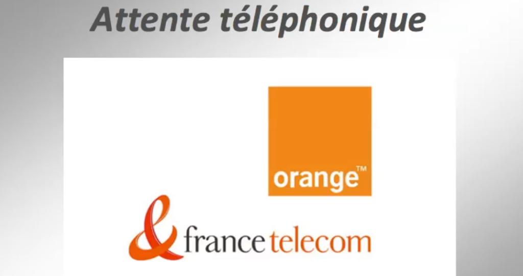 """TELEPHONIE : Attente téléphonique """"France Telecom"""""""