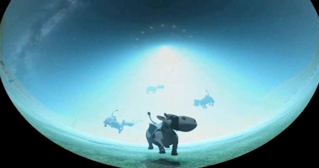 """MIXAGE 5.1 : Dessin anime """"Galaktos, une tournée dans la Voie Lactée"""". Post production"""