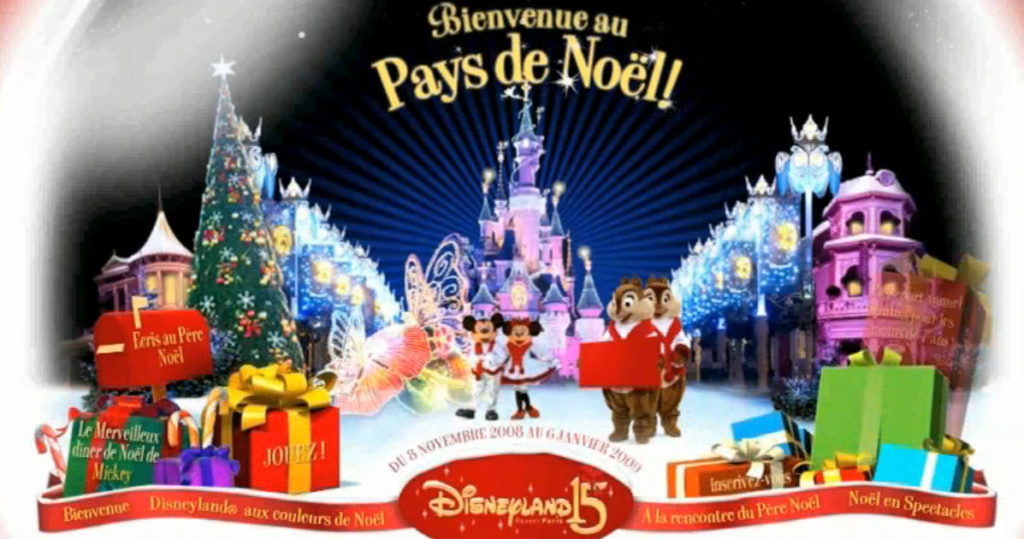 "WEBSITE - FR : website ""Disneyland Paris"". Post production"
