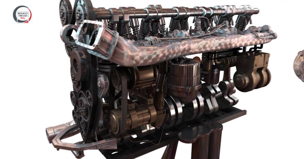 "DIGITAL LEARNING - FR : animation ""Renault Trucks Oils"". Post production"