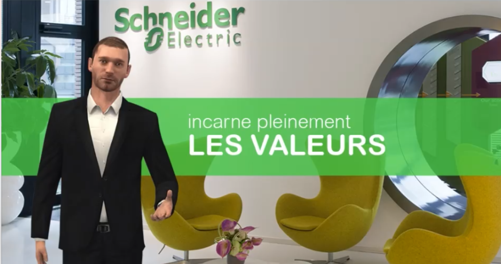 "DIGITAL LEARNING - ANGLAIS : ""Schneider Electric"""