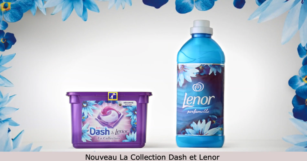 "SPOT TV - FR : ""Dash et Lenor"". Post production voix"