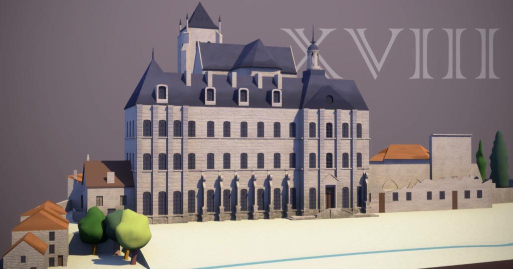 """MUSEOGRAPHIE - FR : """"Histoire de l'Abbaye royale de Celles sur Belle"""""""""""