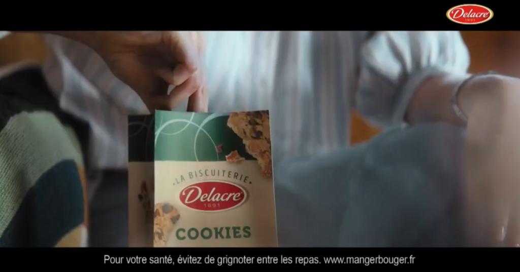 """SPOT TV - FR : """"Cookies DELACRE - 30s"""". Enregistrement voix"""